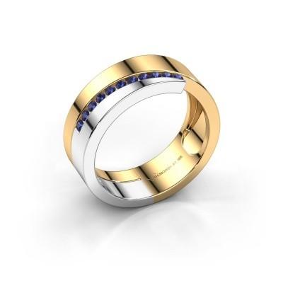 Foto van Ring Loma 585 goud saffier 1.5 mm