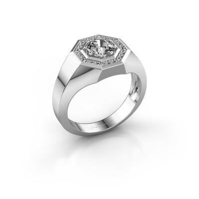 Foto van Heren ring Jaap 925 zilver diamant 1.12 crt