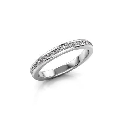 Foto van Aanschuifring Lura 1 585 witgoud diamant 0.49 crt