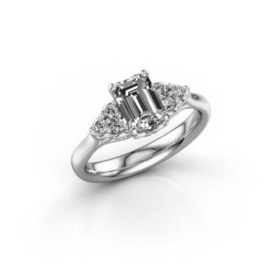 Bild von Verlobungsring Myrna EME 925 Silber Diamant 1.300 crt