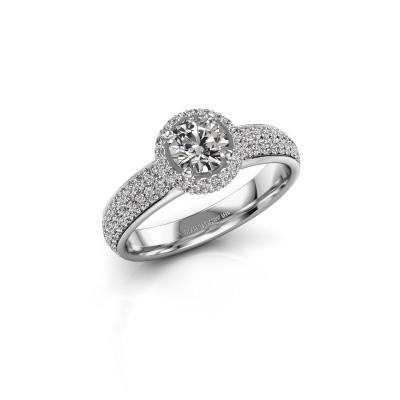 Bild von Verlobungsring Mildred 585 Weißgold Diamant 1.311 crt