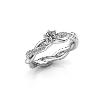 Foto van Verlovingsring Page 925 zilver lab-grown diamant 0.25 crt
