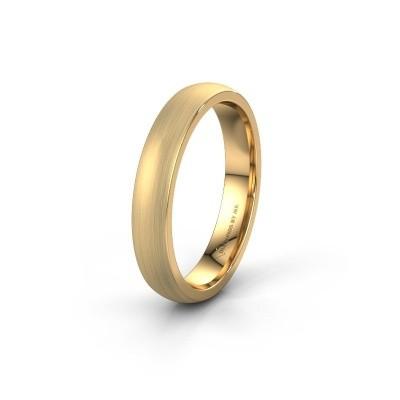 Trouwring WH0100M24BM 375 goud ±4x2 mm