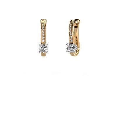 Ohrringe Valorie 585 Gold Diamant 0.78 crt
