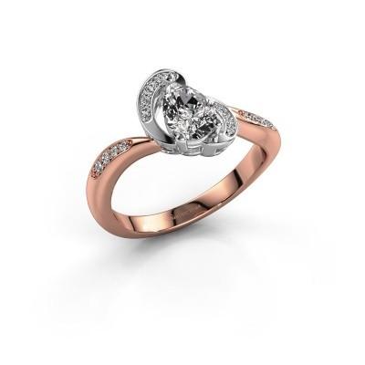 Foto van Ring Jonelle 585 rosé goud lab-grown diamant 0.748 crt