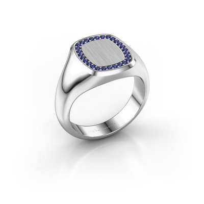 Photo de Bague Dalia Cushion 2 925 argent saphir 1.2 mm