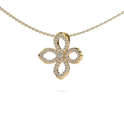 Ketting Chelsea 375 goud diamant 0.31 crt