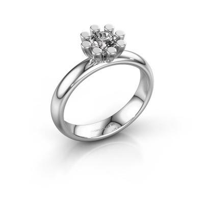 Stapelring Carola 1 950 platina lab-grown diamant 0.50 crt