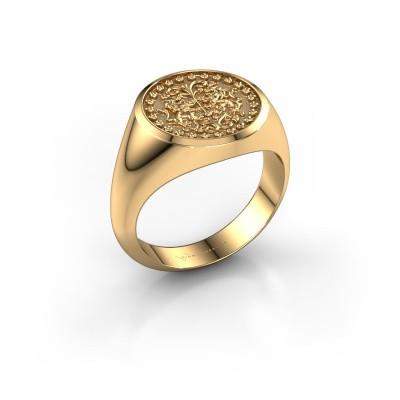 Wapenring Dex 585 goud