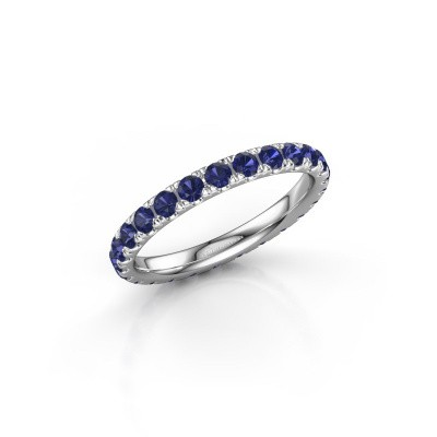 Picture of Ring Jackie 2.3 950 platinum sapphire 2.3 mm