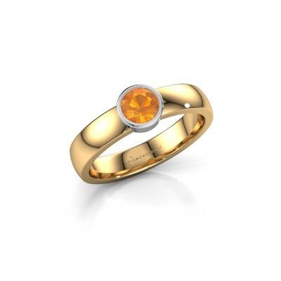 Bild von Ring Ise 1 585 Gold Citrin 4.7 mm