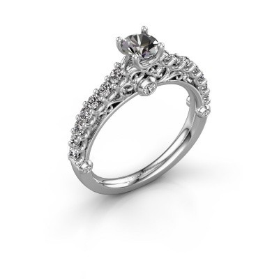 Verlovingsring Shaunda 585 witgoud diamant 0.90 crt