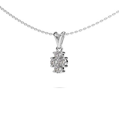 Picture of Necklace Richelle 585 white gold diamond 0.40 crt