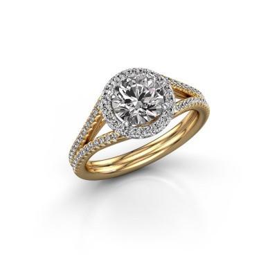 Engagement ring Verla 2 585 gold diamond 1.42 crt