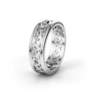 Picture of Wedding ring WHM0239M97BP 585 white gold ±0.39x0.08 in