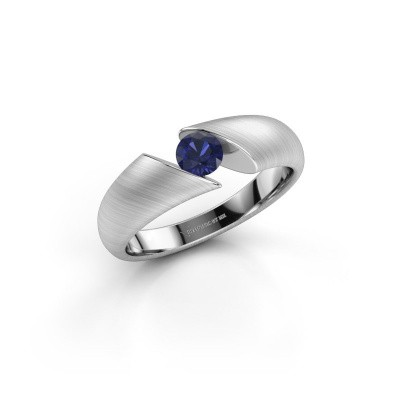 Picture of Ring Hojalien 1 585 white gold sapphire 4.2 mm