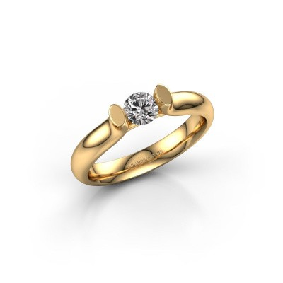 Foto van Verlovingsring Ashlyn 1 375 goud diamant 0.30 crt