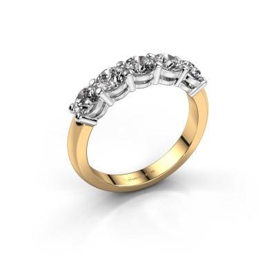 Foto van Promise ring Michelle 5 585 goud diamant 1.25 crt