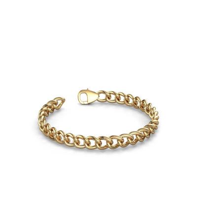 Foto van Cuban armband ±7 mm 585 goud