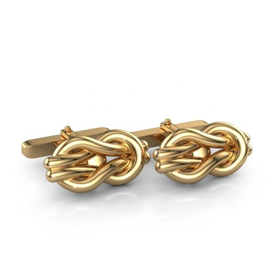 Picture of Cufflinks Knot 585 gold