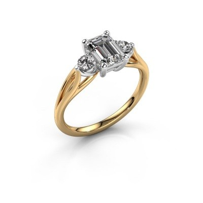 Verlovingsring Amie EME 585 goud lab-grown diamant 1.350 crt