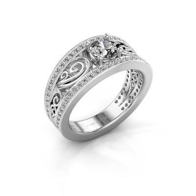 Foto van Verlovingsring Julliana 585 witgoud diamant 0.91 crt