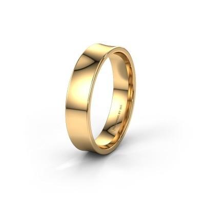 Trouwring WH2100M 375 goud ±5x1.5 mm