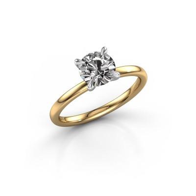 Foto van Verlovingsring Crystal RND 1 585 goud diamant 1.00 crt