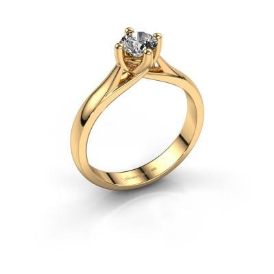 Verlobungsring Janne 375 Gold Diamant 0.50 crt