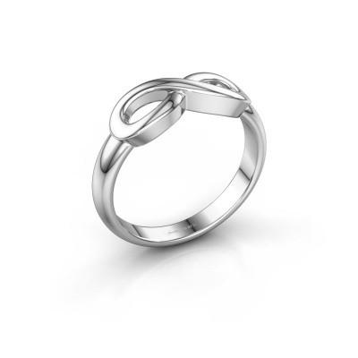 Foto van Ring Infinity 1 585 witgoud