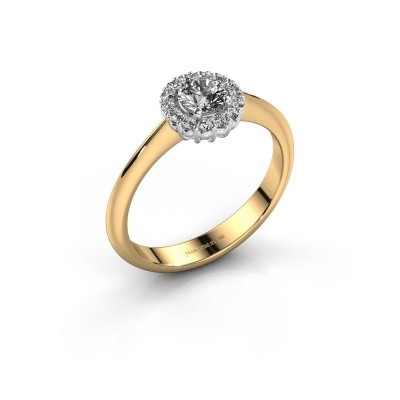 Picture of Engagement ring Anca 585 gold diamond 0.30 crt