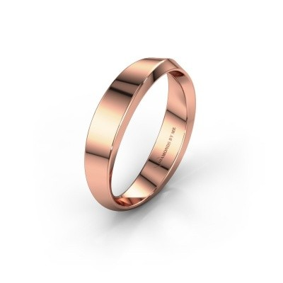 Wedding ring WH2222L14B 375 rose gold ±4x2 mm