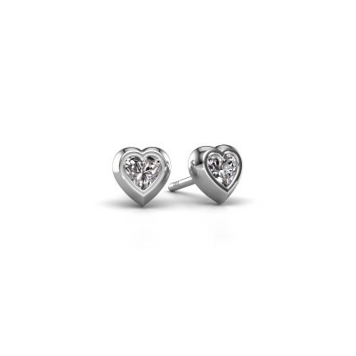 Picture of Stud earrings Charlotte 925 silver diamond 0.50 crt