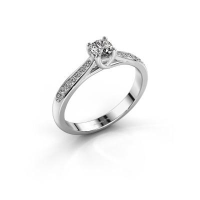 Bild von Verlobungsring Mia 2 950 Platin Lab-grown Diamant 0.30 crt