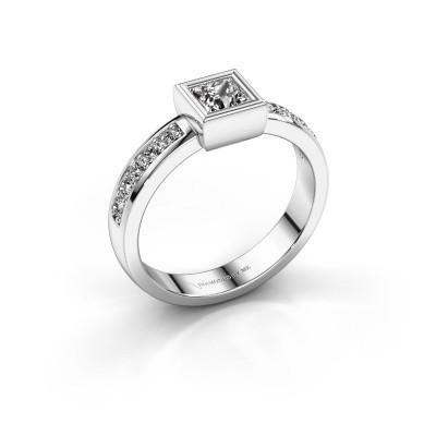 Foto van Ring Aimee 2 925 zilver diamant 0.65 crt