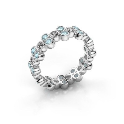 Ring Victoria 585 white gold diamond 0.66 crt