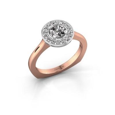 Bild von Ring Kanisha 1 585 Roségold Diamant 0.692 crt