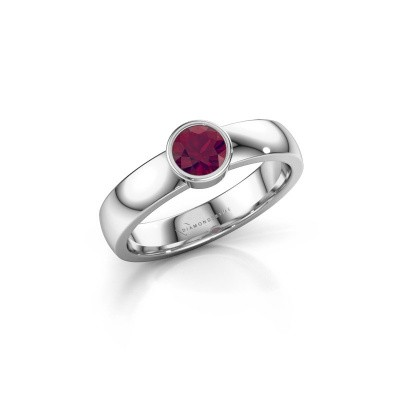 Picture of Ring Ise 1 585 white gold rhodolite 4.7 mm