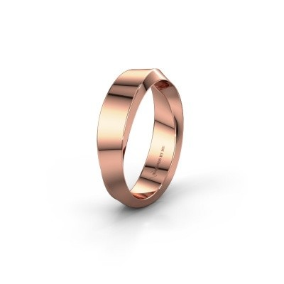 Wedding ring WH2232L15E 375 rose gold ±0.20x0.1in