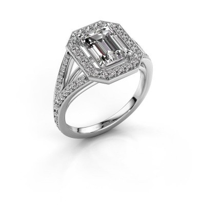 Promise ring Angelita EME 585 witgoud lab-grown diamant 2.279 crt