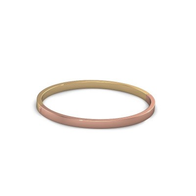 Picture of Bangle Edra 4mm 585 rose gold