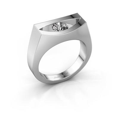 Bague Milou 925 argent diamant 0.40 crt