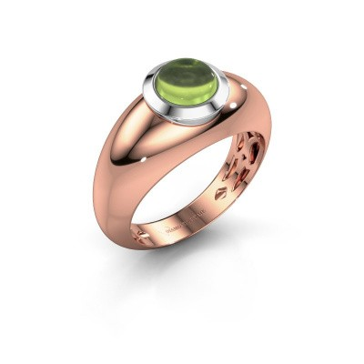 Ring Sharika 585 rose gold peridot 6 mm