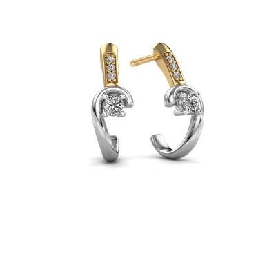 Bild von Ohrringe Ceylin 585 Weissgold Diamant 0.16 crt