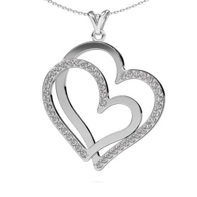 Picture of Necklace Cathy 925 silver diamond 1.15 crt