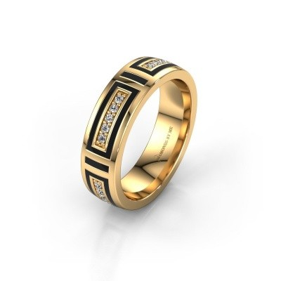Wedding ring WH2228L25A 375 gold ±0.20x0.07 in