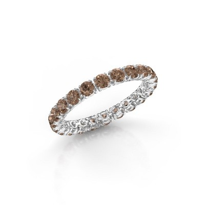Picture of Ring Vivienne 2.7 950 platinum brown diamond 1.68 crt