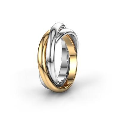 Foto van Ring TRINITY 585 goud