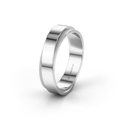 Wedding ring WH6012MX6A 925 silver ±0.24x0.07 in