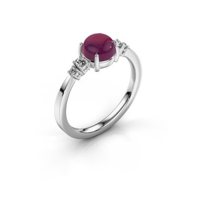 Ring Regine 950 platina rhodoliet 6 mm